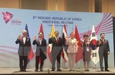 Hội nghị Bộ trưởng Ngoại giao hợp tác Mekong-Hàn Quốc lần thứ 8