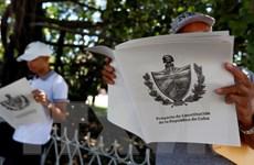 Cuba tiến hành lấy ý kiến người dân về Dự thảo Hiến pháp mới