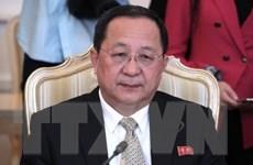 Ngoại trưởng Triều Tiên sắp thăm Iran vào đầu tuần tới