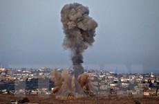 Không quân Israel ném bom nhằm vào Hamas tại Dải Gaza