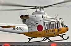Trực thăng cứu hộ chở 9 người mất tích tại Nhật Bản