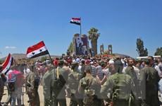 Quân đội Syria giải phóng thêm được nhiều khu vực ở tỉnh Sweida