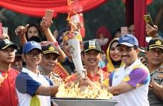 Ngọn đuốc Á vận hội đã đến Jakarta, kết thúc hành trình 18.000km