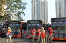 Xe buýt - Giải pháp giao thông tối ưu của Indonesia cho ASIAD 18