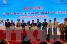 Kết nối tiêu thụ nông sản các tỉnh biên giới Việt Nam-Trung Quốc