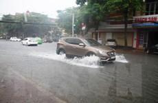 Bắc Bộ và các tỉnh Thanh Hóa, Nghệ An có mưa to đến rất to