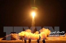 Phiến quân Houthi lại bắn tên lửa đạn đạo vào Saudi Arabia