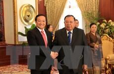 Gìn giữ và vun đắp mối quan hệ đặc biệt hai nước Việt-Lào