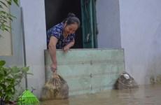 Điện Biên: Mưa lớn trong đêm, nhiều nhà dân ngập sâu đến 1m