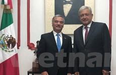 Đại sứ Việt Nam Nguyễn Hoài Dương diện kiến Tổng thống đắc cử Mexico