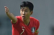 Son Hueng-min quyết tâm cho trận chung kết với Olympic Nhật Bản