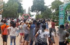Nhiều điểm vui chơi, giải trí tại Hà Nội quá tải dịp nghỉ lễ 2/9