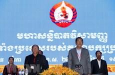 Quốc hội Campuchia khóa VI bầu các chức danh chủ chốt