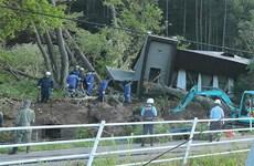 Gần 130 người thương vong trong trận động đất tại Nhật Bản