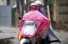 Không khí lạnh tràn về, Bắc Bộ và Bắc Trung Bộ có mưa dông mạnh