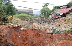 Vỡ hồ chứa thải, 45.000m3 khối nước thải và bùn tràn ra môi trường