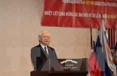 Hội Hữu nghị Nga-Việt phát huy truyền thống đoàn kết, tin cậy lẫn nhau