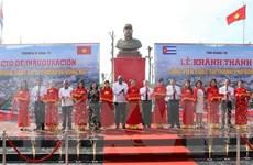Khánh thành Công viên mang tên lãnh tụ Fidel tại Quảng Trị