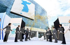 KCNA đưa tin về lễ khai trương Văn phòng Liên lạc liên Triều