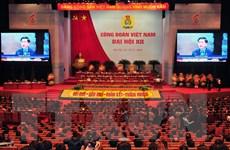 Hình ảnh Phiên trọng thể Đại hội Công đoàn Việt Nam lần thứ XII