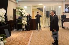 Hình ảnh Lễ viếng Chủ tịch nước Trần Đại Quang tại Nhật Bản