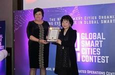 Việt Nam đoạt giải xuất sắc tại cuộc thi toàn cầu Thành phố Thông minh