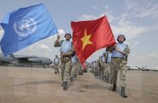 Hình ảnh hơn 30 nhân viên y tế đầu tiên của Việt Nam tới Nam Sudan