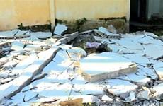 Lâm Đồng: Sập tường rào khi thi công nhà, ba người bị thương