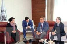 Chủ tịch Quốc hội Nguyễn Thị Kim Ngân đã đến Thổ Nhĩ Kỳ