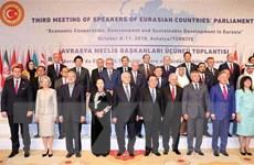Khai mạc Hội nghị Chủ tịch Quốc hội các nước Á Âu lần thứ 3
