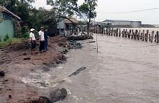 Tình hình sạt lở diễn biến nghiêm trọng ở Đồng bằng sông Cửu Long