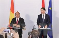 Toàn văn Tuyên bố báo chí chung Việt Nam-Áo