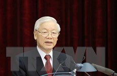 Giới thiệu Tổng Bí thư Nguyễn Phú Trọng để bầu giữ chức Chủ tịch nước