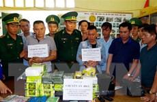 Hà Tĩnh: Bắt vụ vận chuyển 32kg ma túy đá và 10 bánh heroin
