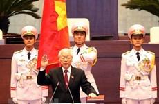 Tổng thống Mozambique gửi điện mừng Chủ tịch nước Nguyễn Phú Trọng
