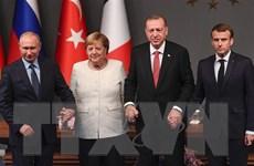 Nga, Pháp, Đức, Thổ Nhĩ Kỳ ra tuyên bố chung về vấn đề Syria