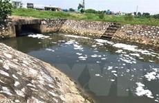 Nam Định: Trạm bơm tiêu úng xả thải gây ô nhiễm môi trường