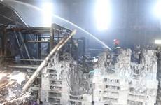 Hỏa hoạn thiêu rụi nhiều tài sản tại xưởng in bao bì ở Lạng Sơn