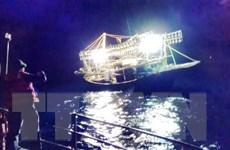 Nghệ An: Cứu nạn thành công tàu cá cùng 10 thuyền viên gặp nạn