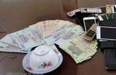Bắt quả tang 37 đối tượng đánh bạc, thu giữ hơn 980 triệu đồng