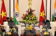 Bí thư Thành ủy Đà Nẵng hội kiến Tổng thống Ấn Độ Ram Nath Kovind