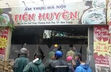 Khánh Hòa: Sập quán phở khiến ít nhất 3 người thương vong