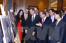 Quan hệ truyền thống và hợp tác toàn diện Việt-Nga qua các bức ảnh