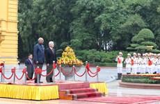Lễ đón Tổng thống Ấn Độ thăm cấp Nhà nước tới Việt Nam