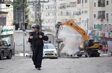 Palestine phản đối Israel phá hủy các tòa nhà thương mại ở Jerusalem