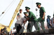 Quảng Ngãi: Kịp thời cứu hai thuyền viên trên tàu cá bị chìm