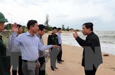 Ứng phó với bão số 9: Bà Rịa-Vũng Tàu có mưa lớn, gió giật mạnh