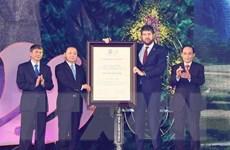 Cao Bằng đón nhận danh hiệu Công viên địa chất Toàn cầu