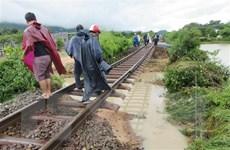 Mưa bão gây ngập lụt, hơn 10.000 hộ dân Bình Thuận phải sơ tán