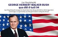 Những dấu mốc trong sự nghiệp chính trị của Tổng thống Mỹ Bush